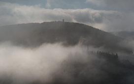 Ahrtal im Nebel